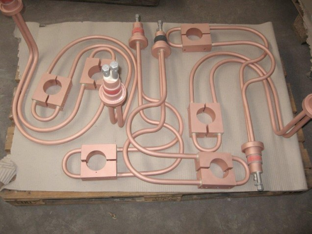 Vorbehandelte Stromleiter für nachvollgenden Isolation